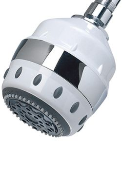 water shower head for chlorine removal